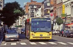 5878 30 barré (brossel 8260) Tags: belgique bus tec liege