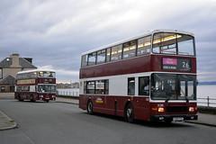 1 & 285 (Callum's Buses and Stuff) Tags: bus buses lothianbuses lothian lrt lothianbus lothianedinburghedinburgh volvo royal ingliston busesedinburgh edinburgh edinburghbus madderandwhite madderwhite white madder road p285psx atlantean alexander edinburghcorporation eastfield basil an68 mader vintagebus open doors