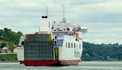 18 06 20 BF Connemara departing Ringaskiddy (46) (pghcork) Tags: brittanyferries connemara ferry carferry cork corkharbour cobh ringaskiddy 2018 ireland ships shipping ship