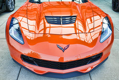 If You've Got, Flaunt It (Trippin' all over the place) Tags: vette corvette chevrolet chevy fast loud furious orange red reflection car lighting fluid stcharles missouri