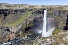 Háifoss (dfalkner) Tags: waterfall rainbow iceland háifoss