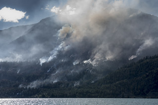 Anderson Lake Fire - British Columbia - may 2018