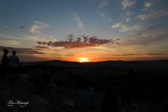 Sunset over Athens (Leo Kramp) Tags: 2018 athens areopagushill sunset zakenreizen greece businesstrip werk griekenland websitelandschap flickr