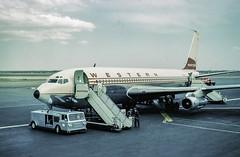 Denver 1963 (Tony Tomlin) Tags: scannedslides stapleton denver 1961 westernairlines boeing707
