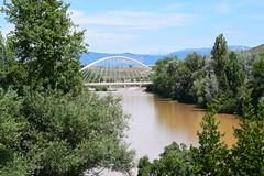 Río Ebro (Logroño, La Rioja, España, 8-7-2018) (Juanje Orío) Tags: 2018 logroño larioja españa espagne espanha espanya spain río river ebro puente bridge agua water