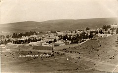 Cooma, N.S.W. - circa 1908 (Aussie~mobs) Tags: vintage australia newsouthwales 1908 cooma town township gaol jail aussiemobs