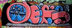 graffiti in Utrecht (wojofoto) Tags: utrecht nederland netherland holland graffiti streetart hof grindbak legalwall wojofoto wolfgangjosten defs