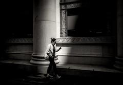 untitled--254 (Stevenchen912) Tags: streetphoto streetcandid streetscene composition contrast candid cadid geometry geo light blackwhite bw decisivemoment depth desicive alone