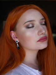 LHCOSMETICS 2 (Silje Roos) Tags: photo photography photos portrait photoshoot picture photographys pretty people pale photograph pink orange red hair style hairstyle hotgirl hot woman hotwoman dope fashion killa model makeup beauty beautiful norsk norway norwegian norge jewlery jewllery jente dame