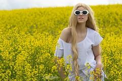 Anna (austinspace) Tags: woman portrait model spokane washington freeman palouse highway canola summer blond blonde wig mostexpensivephotoshootever