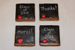 Teacher Cookies (Nadia Bakes) Tags: backtoschool chalkboard blackboard cookies teacher