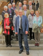 Second group of North Berwick Probus visitors