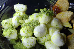 Goats Cheese Pearls, Green Pesto (Tony Worrall) Tags: add tag ©2018tonyworrall images photos photograff things uk england food foodie grub eat eaten taste tasty cook cooked iatethis foodporn foodpictures picturesoffood dish dishes menu plate plated made ingrediants nice flavour foodophile x yummy make tasted meal nutritional freshtaste foodstuff cuisine nourishment nutriments provisions ration refreshment store sustenance fare foodstuffs meals snacks bites chow cookery diet eatable fodder goatscheesepearls greenpesto balls