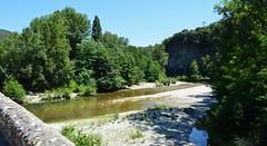Mialet (Gard), depuis le pont des Camisards, vue sur le gardon de Saint-Jean (gunger30) Tags: mialet gard cévennes languedocroussillon occitanie france 2018 rivière gardon gardondesaintjean panorama pontdescamisards pont paysage