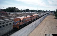 3548 DA1572 DA1571 34XF to Wickepin Midland 25 February 1983 (RailWA) Tags: railwa philmelling westrail 1983 da1572 da1571 34 xf wickepin midland