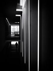 passage (Sandy...J) Tags: atmosphere alone atmosphäre allein architektur architecture photography fotografie passage durchgang darkness dark dunkelheit olympus light licht lines linien blackwhite bw black germany deutschland street streetphotography sw schwarzweis strasenfotografie stadt silhouette shadow sunlight urban noir monochrom city contrast