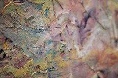 Strawberry splatters (Daria Kucharczyk Photography) Tags: art painting gallery texture colors closeup impasto macro