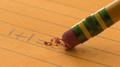 Sometimes We Make the Simplest Mistakes (Ken Krach Photography) Tags: macromonday erasers