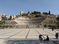 Roman Ampitheatre in Amman (david_e_waldron) Tags: jordan amman