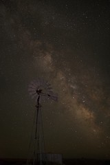 Windmill Milky Way 9738 D (jim.choate59) Tags: jchoate on1pics stars milkyway windmill night silhouette d610 summer gilliamcountyoregon oregon condonoregon