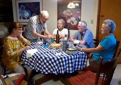 Come on Bob, you can do it! (ali eminov) Tags: wayne nebraska celebrations birthdays people friends janet bob bonnie catherine gilbert