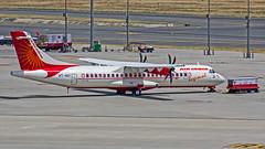 Air India Regional Aerospatiale ATR72 VT-AIU New Delhi (DEL/VIDP) (Aiel) Tags: airindia ariindiaregional aerospatiale atr atr72 vtaiu delhi newdelhi canon60d