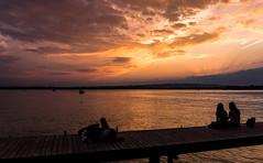 Sunset (Hegglin Dani) Tags: zug zugersee switzerland schweiz sunset sonnenuntergang sun sonne silhouette wolken clouds colours afterglow abendrot abendstimmung eveningmood