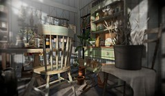 Breakfast in the Potting Shed (AGodenot) Tags: thor anhelo artisanfantasy fancydecor lode noctis thevintagefair pewpew revival tia