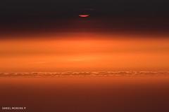 Sunspot #3 (Daniel Moreira) Tags: por do sol sunset sun peninha sintra serra cascais cabo roca azóia sea ocean mar oceano clouds sky portugal