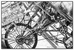 Internal gubbins of the pedalikefuckus  Effalumptus! (Oul Gundog) Tags: elephant puppet festival newtownards co down northern ireland bike pedal uk gubbins ulster