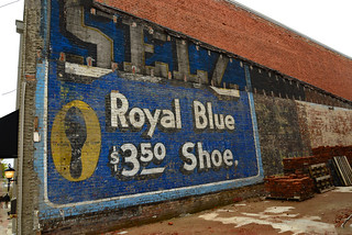 Royal Blue Shoe