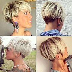 27 Lovely Hairstyles for Bold Short Hair (nididchy) Tags: hairstyles for medium length hair short long school millennial viking beard l mens fashion style jewelry i tattoos sunglasses glasses sensod   diy home decor mehndi designs pallets health hairstylecom try haircuts