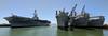 Mothball Fleet (tourtrophy) Tags: usshonet alameda eastbay navalships ships googlepixel2xl