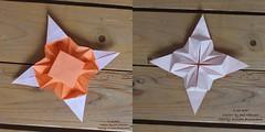 K 38 Star (José Meeusen) 2 both Sides (AnkaAlex) Tags: paperfolding papercraft paper paperfoldingart