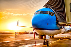 New day (mark.wagtendonk) Tags: klm boeing b737 airport ams amsterdam aviation eham hdr phbxt 737900 739 airplane aircraft airlines avgeek schiphol