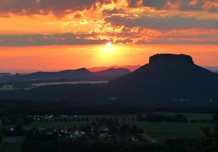 Nochmal Sonnenuntergang....