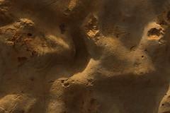 Lusus naturae (gripspix (OFF)) Tags: 20180624 rock steine texture textur keuper mesozoic mesozoikum erdmittelalter oberfläche surface constructionarea baustelle sulz germany deutschland cracks risse processed bearbeitung imagination einbildungskraft