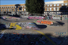 RIP Lover / RIP Veko (Alex Ellison) Tags: southlondon urban graffiti graff boobs rip lover veko tribute brixton skatepark