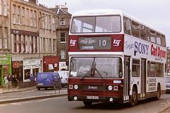 LOTHIAN REGIONAL TRANSPORT 758 B758GSC (bobbyblack51) Tags: lothian regional transport 758 b758gsc leyland olympian eastern coach works edinburgh 1995