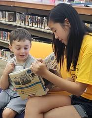 Abington Reads (Abington Free Library and Roslyn Branch Library) Tags: abington reads volunteers teens children reading abingtontownshippubliclibrary abingtonfreelibrary summer