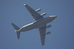 ZZ177 (Rob390029) Tags: raf royal air force boeing c17 c17a globemaster iii zz177 100 plane jet aircraft cargo military aviation transport transportation travel blue sky underside