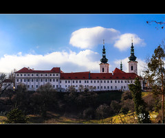 Strahov Monastery (amandia) Tags: prague czechrepublic czechia strahovmonastery strahov monastery abbey romanesque church christian library artifacts hdr canon eos80d
