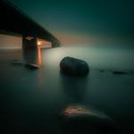 Great Belt Bridge in Dark Light thumbnail
