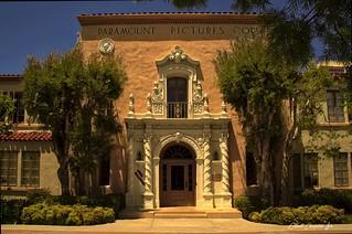 Paramount Pictures'  Sumner Redstone building