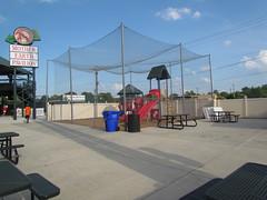 Kids Area at Grainger Stadium -- Kinston, NC, June 28, 2018 (baseballoogie) Tags: 062818 baseball baseball18 baseballpark ballpark stadium graingerstadium canonpowershotsx30is downeastwoodducks woodducks carolina league a milb kinston nc northcarolina