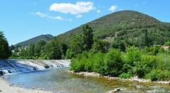 Mialet (Gard), barrage sur le gardon de Saint-Jean (gunger30) Tags: mialet gard cévennes languedocroussillon occitanie france 2018 rivière gardon gardondesaintjean panorama