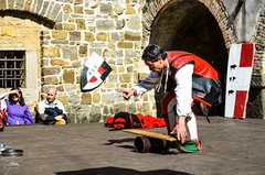 Giornate medievali al Castello di Gorizia - 326 (giannizigante) Tags: gorizia castello giornatemedievali medioevo rievocazionistoriche