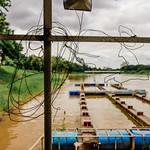 Docks and wire, Wat Faham, Chiang Mai, Thailand thumbnail