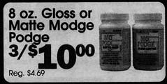 Modge Podge / Mod Podge (The Mandela Effect Database) Tags: residual evidence modge podge presented by mandela effect database mod mandala mandelaeffect research residue proof print news newspapers newspaperscom
