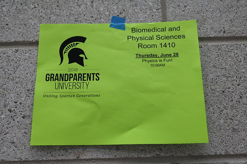 Grandparents University, June 2018